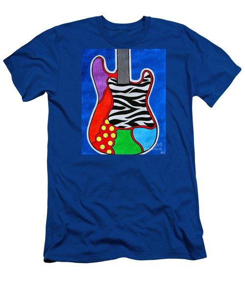 It's Electric Acrylic By Diana Sainz Men's T-Shirt (Athletic Fit)