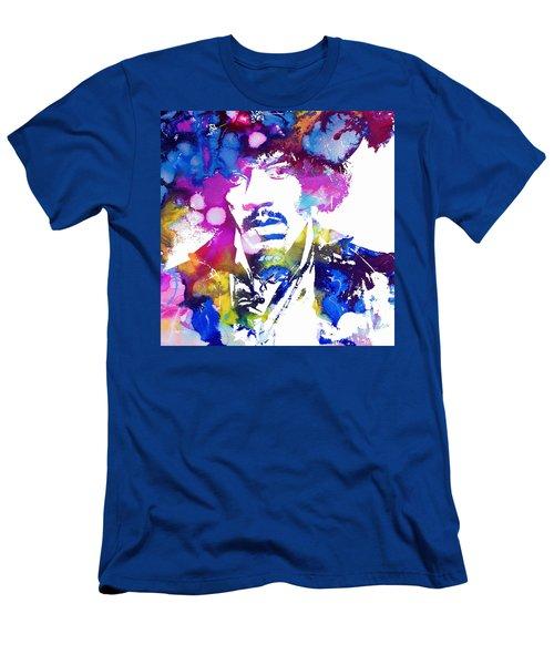 Jimi Hendrix - Stoned Men's T-Shirt (Athletic Fit)