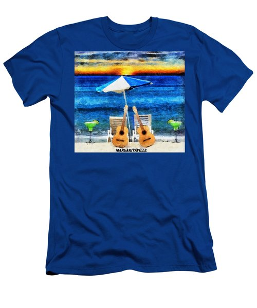 Jimmy Buffett Paradise Men's T-Shirt (Athletic Fit)