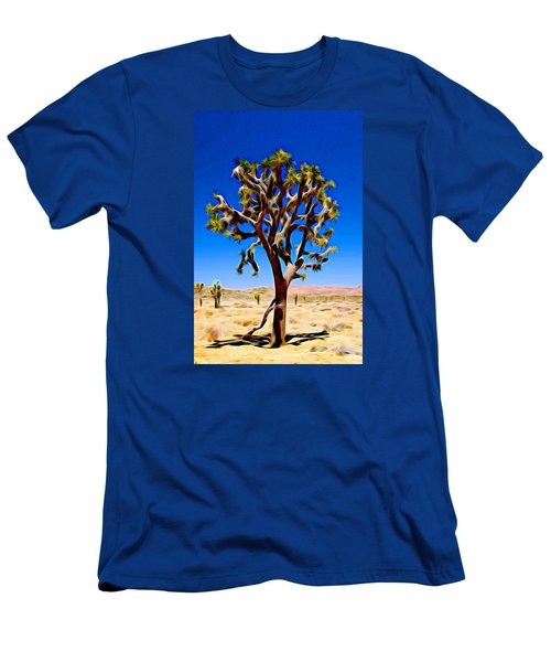Joshua Tree Dark Men's T-Shirt (Athletic Fit)
