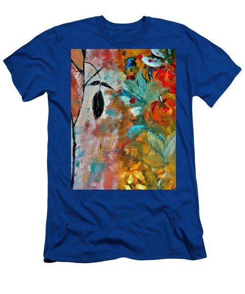 Joy Men's T-Shirt (Slim Fit) by Lisa Kaiser
