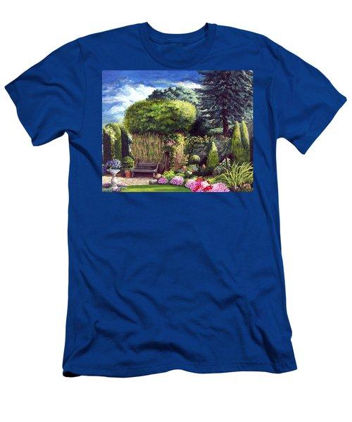 Joy's Garden Men's T-Shirt (Athletic Fit)