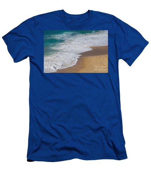 Just Waves And Sand By Kaye Menner Men's T-Shirt (Athletic Fit)