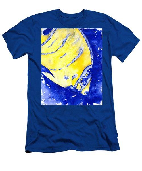 Juvenile Queen Angelfish Men's T-Shirt (Athletic Fit)