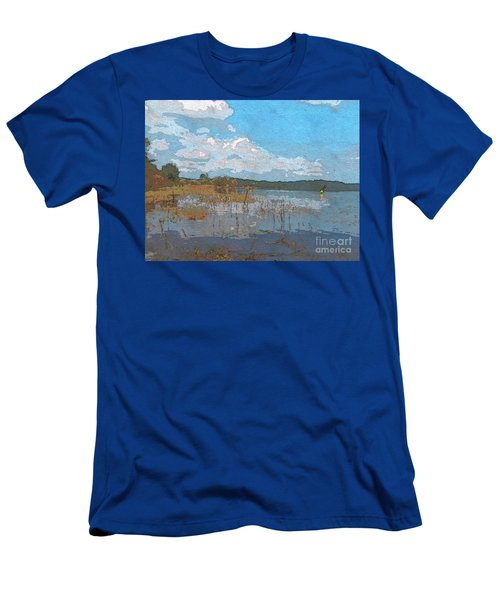 Kayaking At Lake Juliette Men's T-Shirt (Athletic Fit)