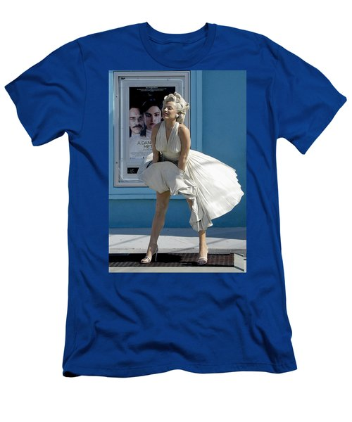 Key West Marilyn Men's T-Shirt (Athletic Fit)