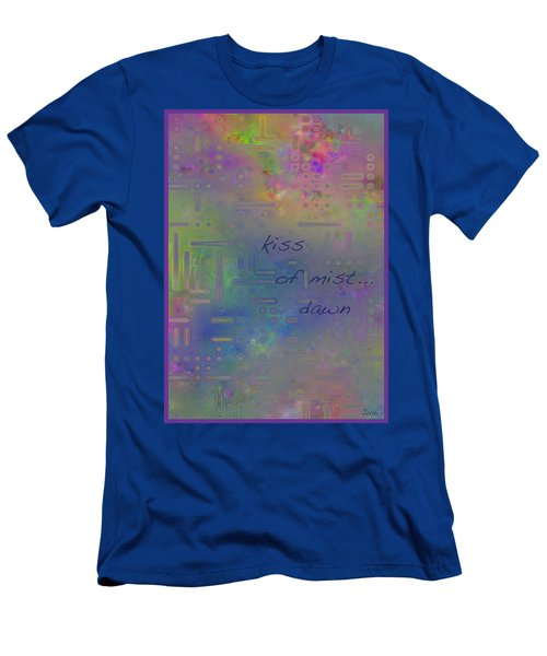 Kiss Of Mist Haiga Men's T-Shirt (Athletic Fit)