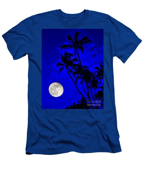 Kona Moon Rising Men's T-Shirt (Slim Fit) by David Lawson