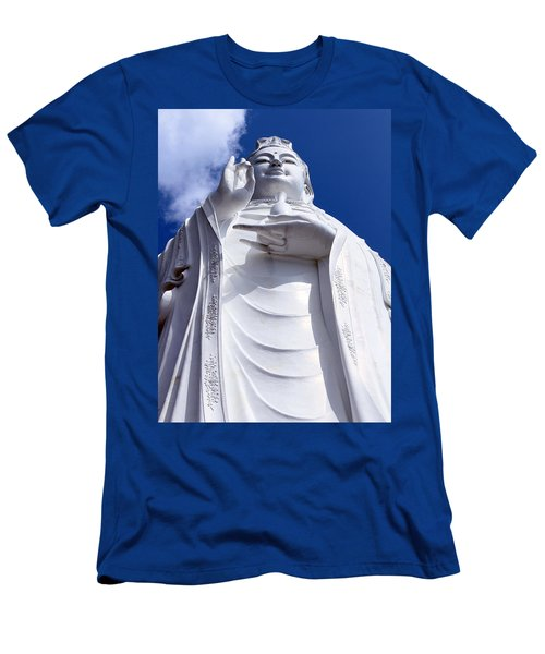 Lady Buddha Vietnam Men's T-Shirt (Athletic Fit)