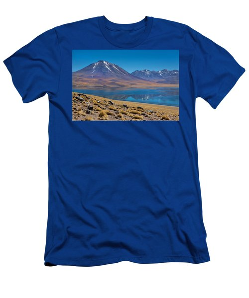 Laguna Miscanti Men's T-Shirt (Athletic Fit)