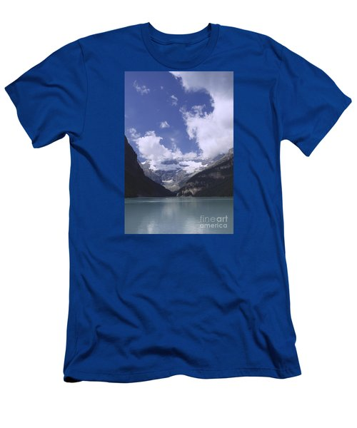 Men's T-Shirt (Slim Fit) featuring the photograph Lake Louise Canada by Rudi Prott
