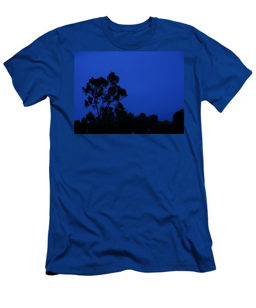 Men's T-Shirt (Slim Fit) featuring the photograph Blue Landscape by Mark Blauhoefer