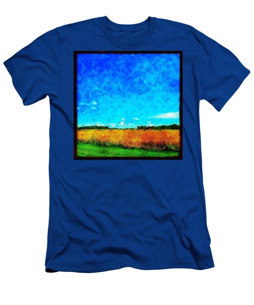 Lazy Clouds In The Summer Sun Men's T-Shirt (Athletic Fit)