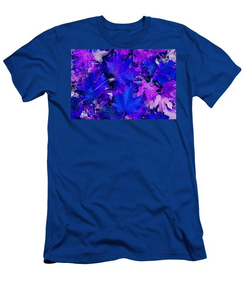 Men's T-Shirt (Slim Fit) featuring the photograph Leaves by Aimee L Maher Photography and Art Visit ALMGallerydotcom