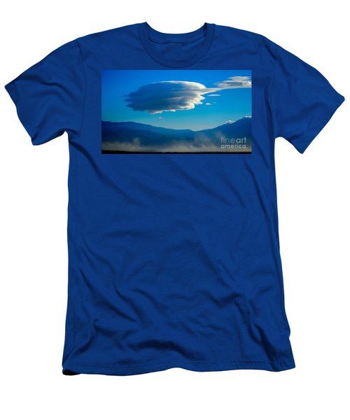 Lenticular Dust Storm Men's T-Shirt (Slim Fit) by Angela J Wright