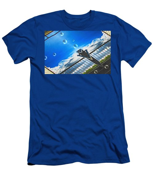 Letting Go Men's T-Shirt (Slim Fit) by Wendy J St Christopher