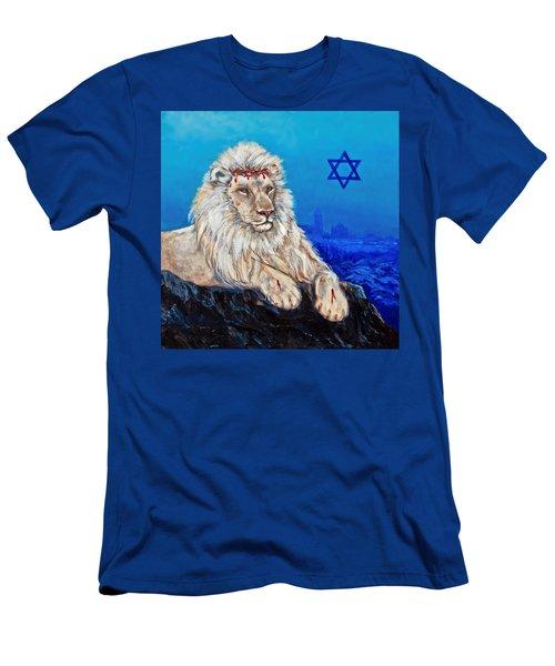 Lion Of Judah Before Jeruselum Men's T-Shirt (Athletic Fit)