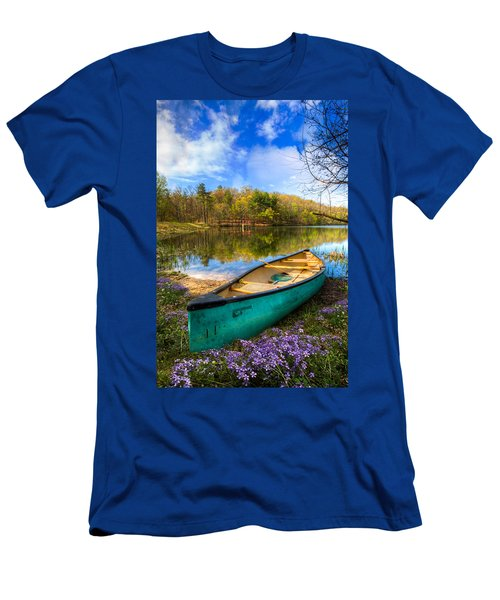 Men's T-Shirt (Athletic Fit) featuring the photograph Little Bit Of Heaven by Debra and Dave Vanderlaan