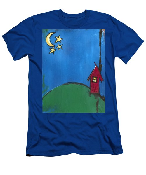 Little Red House Men's T-Shirt (Athletic Fit)