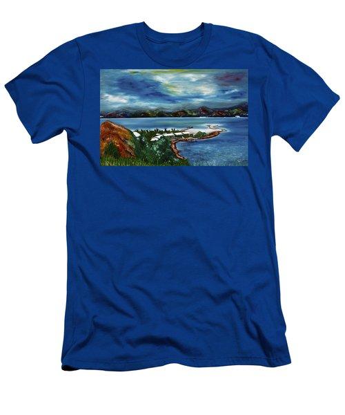 Loloata Island Men's T-Shirt (Athletic Fit)