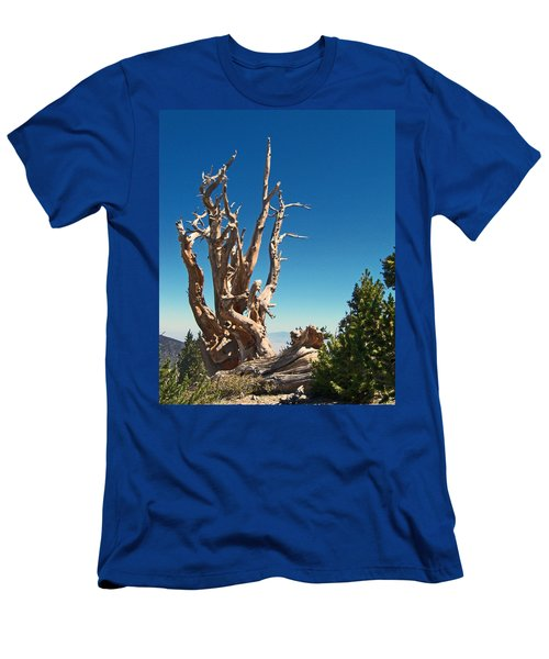 Men's T-Shirt (Slim Fit) featuring the photograph Lone Bristlecone by Alan Socolik