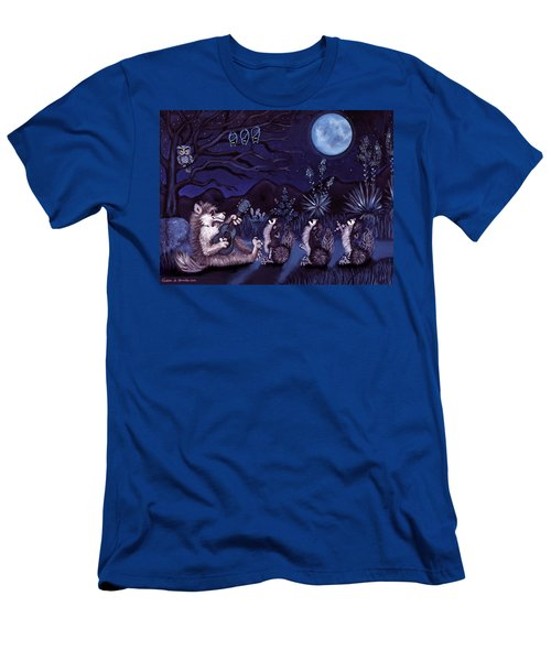 Los Cantantes Or The Singers Men's T-Shirt (Athletic Fit)