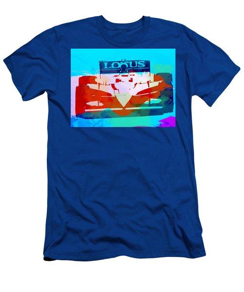 Lotus F1 Racing Men's T-Shirt (Athletic Fit)