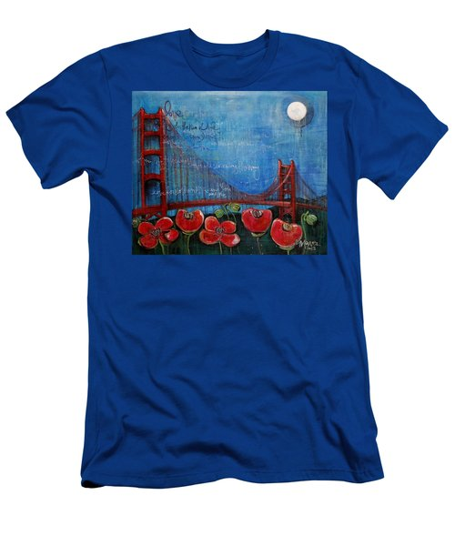 Love For San Francisco Men's T-Shirt (Athletic Fit)
