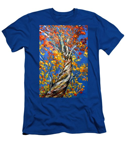 Men's T-Shirt (Slim Fit) featuring the painting Love That Reaches by Meaghan Troup