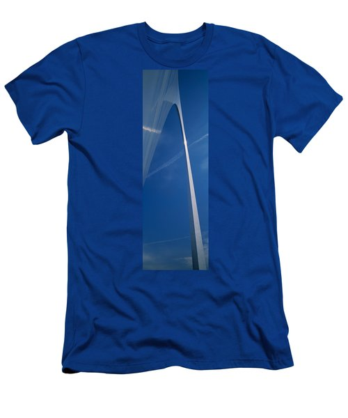 Low Angle View Of An Arched Structure Men's T-Shirt (Athletic Fit)