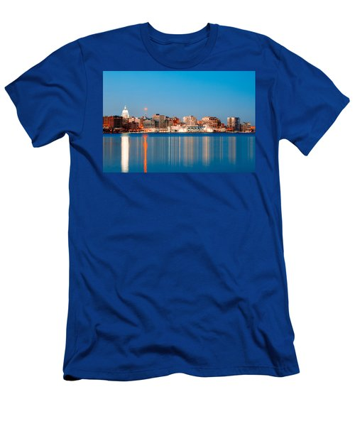 Madison Skyline Men's T-Shirt (Athletic Fit)
