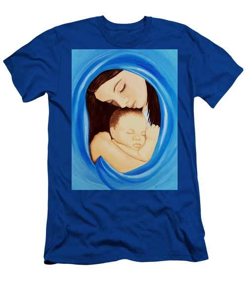 Madonna Of The Sea Men's T-Shirt (Athletic Fit)