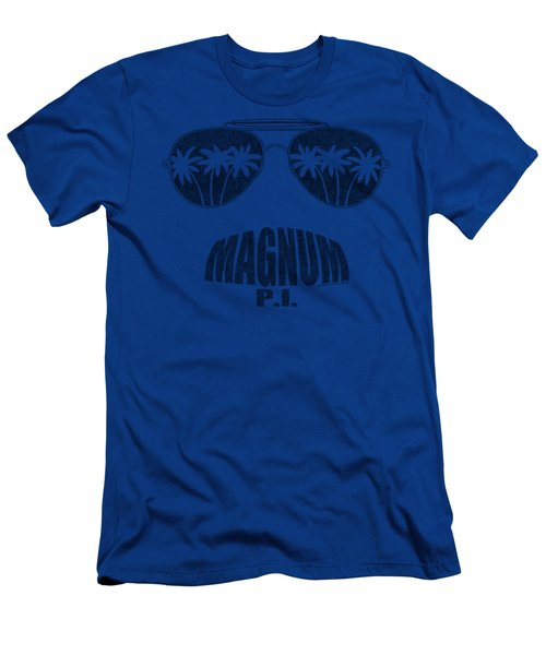 Magnum Pi - Face It Men's T-Shirt (Athletic Fit)