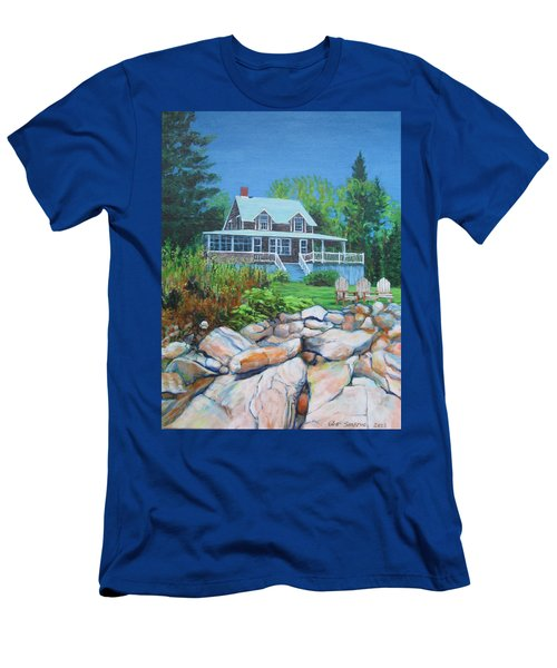 Maine Cottage Men's T-Shirt (Athletic Fit)