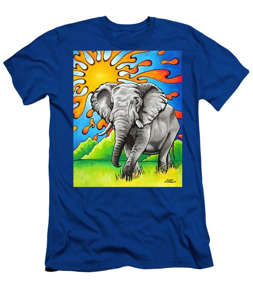 Majestic Elephant Men's T-Shirt (Athletic Fit)
