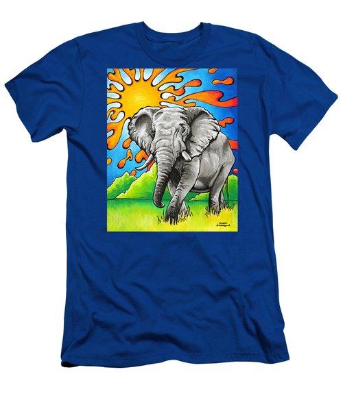 Majestic Elephant Men's T-Shirt (Athletic Fit)