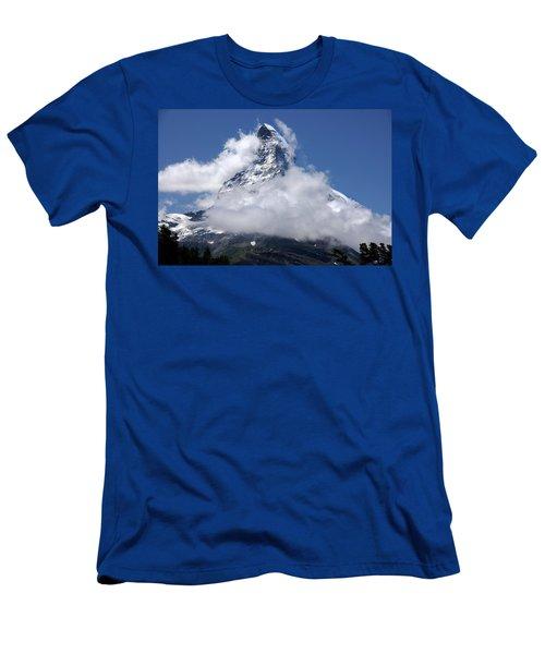 Majestic Mountain  Men's T-Shirt (Athletic Fit)