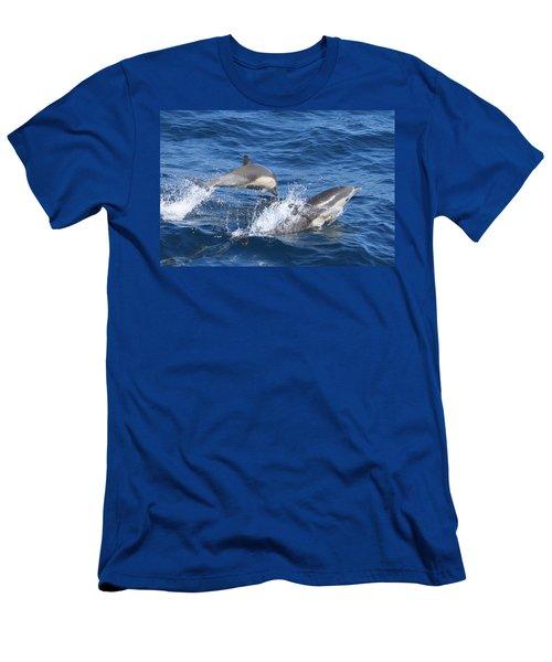 Make A Splash Men's T-Shirt (Slim Fit) by Shoal Hollingsworth