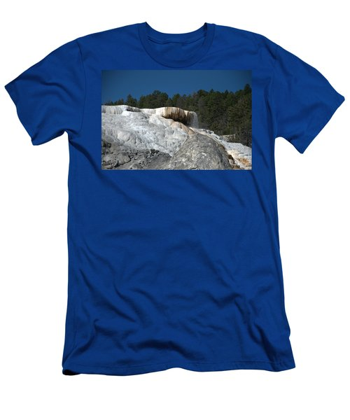 Mammoth Hot Springs 1 Men's T-Shirt (Athletic Fit)