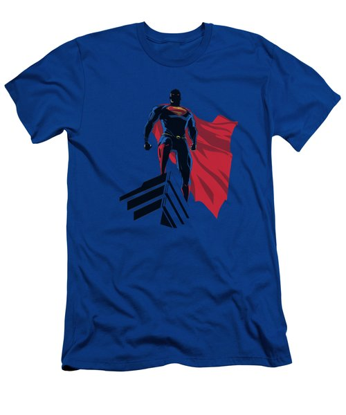 Man Of Steel - The Watcher Men's T-Shirt (Athletic Fit)