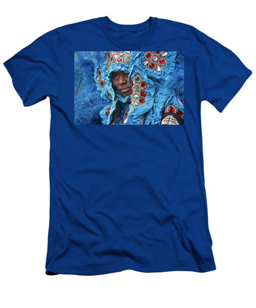 Men's T-Shirt (Athletic Fit) featuring the photograph Mardi Gras Indian by KG Thienemann