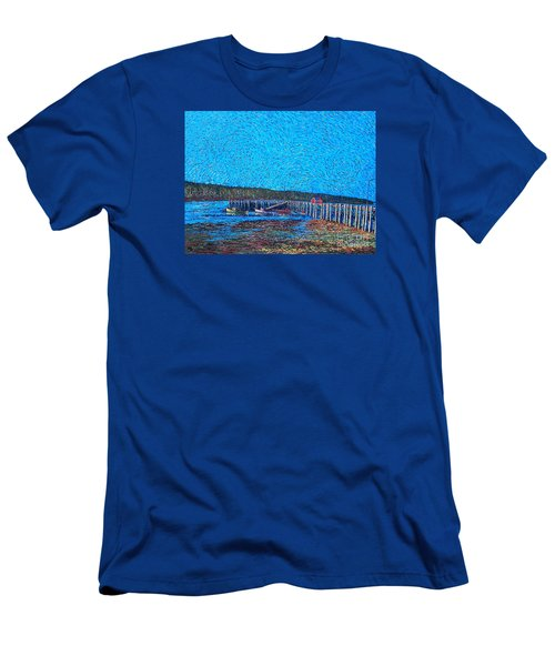 Market Wharf St. Andrews Nb Men's T-Shirt (Athletic Fit)