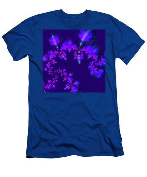 Midnight Blossoms Men's T-Shirt (Athletic Fit)