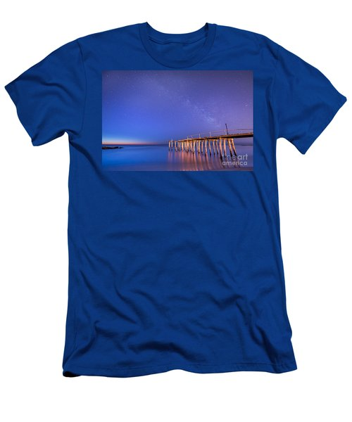 Milky Way Sunrise Men's T-Shirt (Athletic Fit)