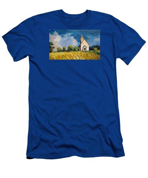 Mini Church Men's T-Shirt (Slim Fit) by Jieming Wang