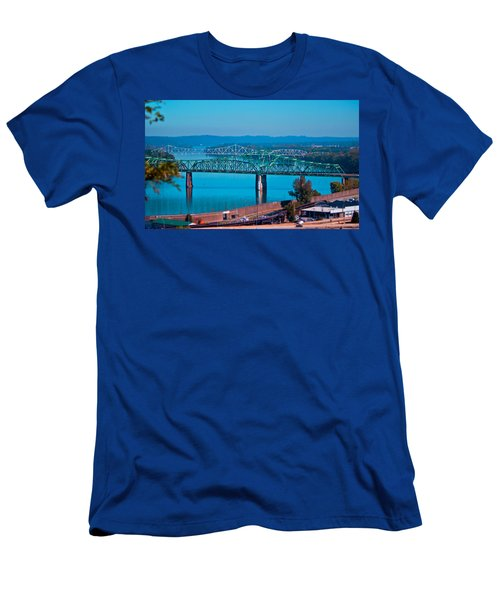 Miniature Bridge Men's T-Shirt (Athletic Fit)