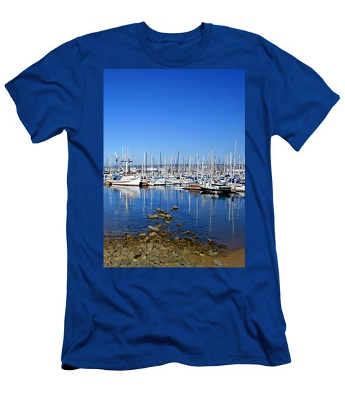 Men's T-Shirt (Slim Fit) featuring the photograph Monterey-7 by Dean Ferreira