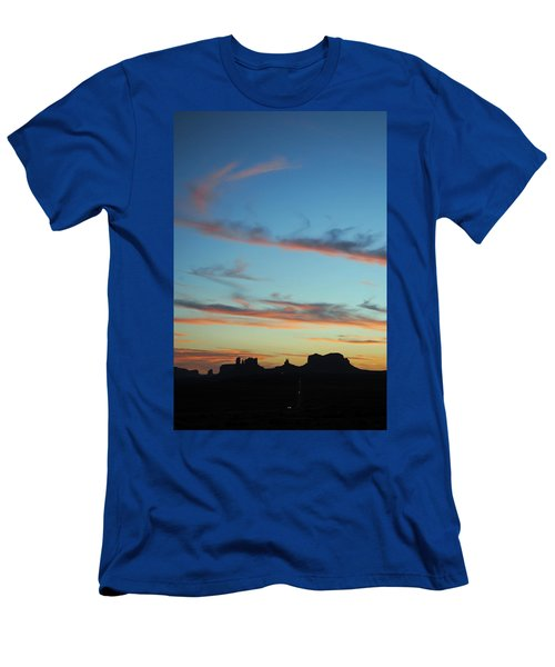 Monument Valley Sunset 3 Men's T-Shirt (Athletic Fit)