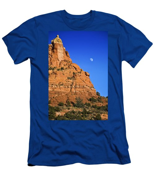 Moon Over Sedona Men's T-Shirt (Athletic Fit)