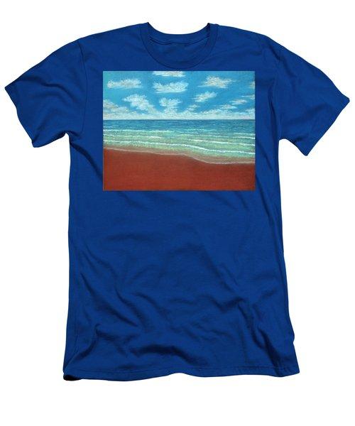 Moonset B Men's T-Shirt (Athletic Fit)